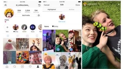 Historias Destacadas | una nueva forma de mostrar quién eres en Instagram