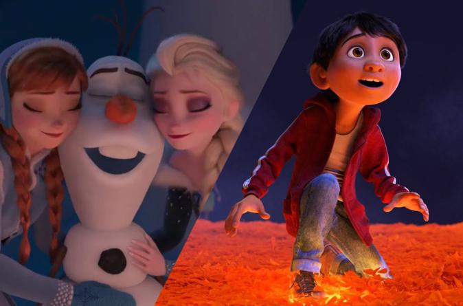 Disney pide a los cines de todo el mundo eliminar el corto de Olaf previo a Coco