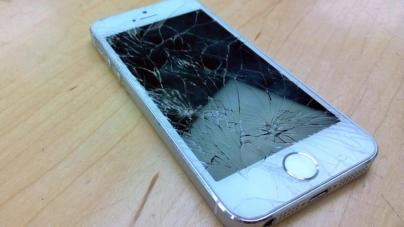No más pantallas rotas | Japoneses crean un cristal que se repara solo