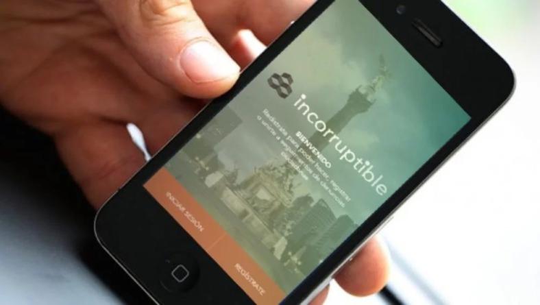 Incorruptible | La aplicación ciudadana para denunciar actos de corrupción