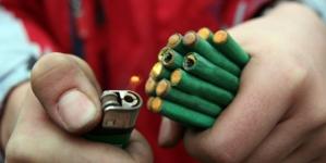 Fiestas sin 'cuetes' | Protección Civil realiza campaña sobre riesgos del uso de pirotecnia