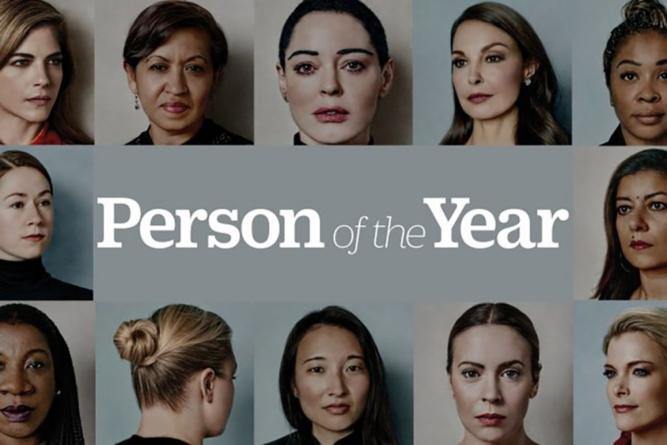 Es tiempo de romper el silencio   La persona del año de TIMES es…