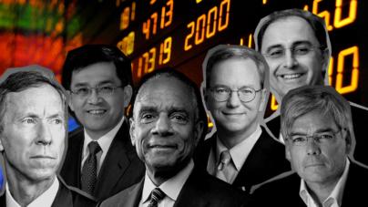 Mercado al alza y… directores generales se retiran de grandes corporativos