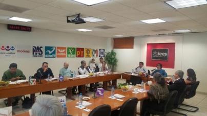Aprueba IEES montos de financiamiento público por casi 33 MDP y reglas para registros de candidatos