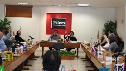 Aprueba IEES diseño y producción de boletas para elecciones locales del 1 de julio