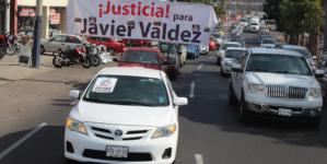 A 8 meses de su asesinato, caravana marcha a la PGR exigiendo justicia para Javier Valdez