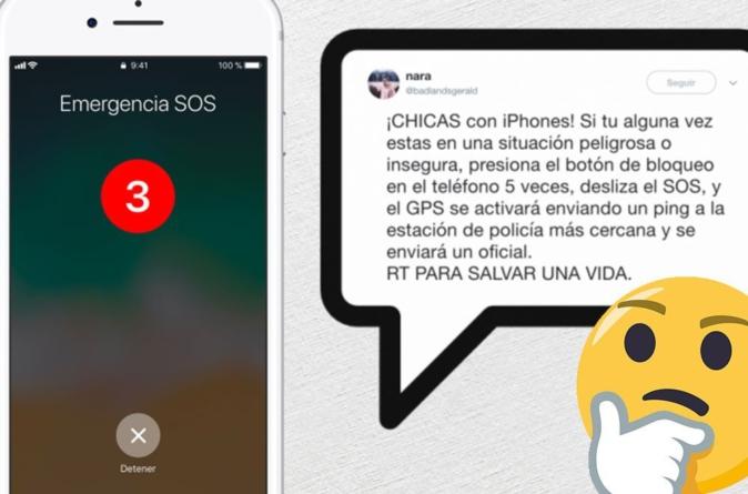 No, tu iPhone no envía tu ubicación a la policía en casos de emergencia