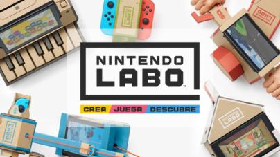 Con Nintendo Labo podrás incorporar cajas de cartón a los videojuegos