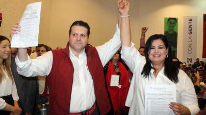 Sin sorpresas, Mario Zamora y Rosa Elena Millán registran precandidaturas al Senado