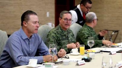 Gobierno y fuerzas militares buscan mantener a la baja los índices delictivos en Sinaloa