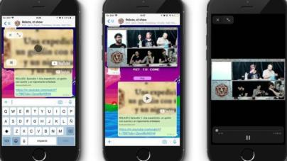 WhatsApp ya permitirá ver videos de YouTube sin tener que salir de su app en iOS