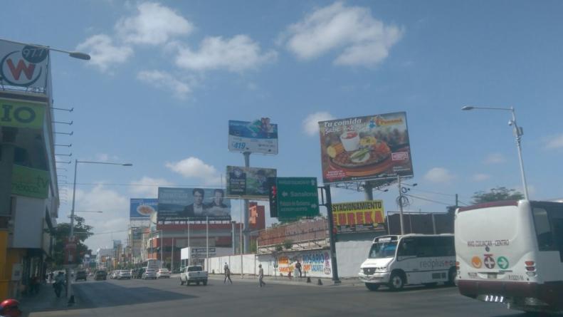 Retirarán espectaculares que no tengan permiso en Culiacán