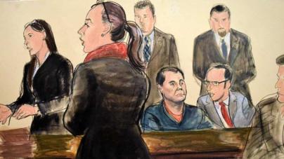 Preliminares del juicio al Chapo Guzmán