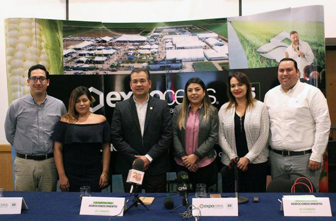 Celebrará Expoceres 25 años de traer la mejor innovación al campo en Sinaloa