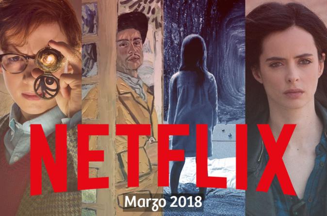 Prepara las palomitas | Estas son las series y películas que llegan a Netflix en marzo