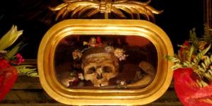 Los huesos de San Valentín