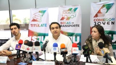 ISJU lanza convocatoria de becas al transporte, titulación y alimentación para estudiantes