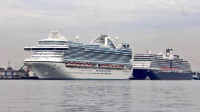 Arriban más de 7 mil turistas en dos cruceros al puerto de Mazatlán