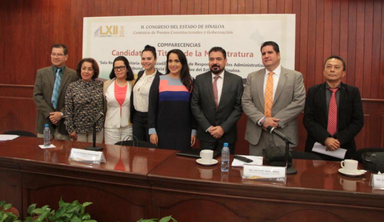 Comparecen candidatos al cargo de nuevo magistrado anticorrupción de Sinaloa