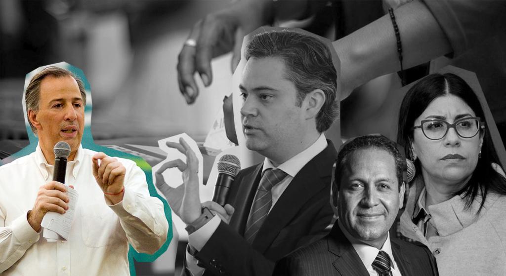 DURANGO, DURANGO, 22ENERO2018.- El precandidato a la presidencia de la república por el Partido Revolucionario Institucional, Jose Antonio Meade Kuribreña, asistió al 4º Foro Puntos de Encuentro: Seguridad y Justicia