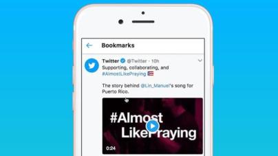 Ya puedes guardar tuits en tu 'smartphone' directamente desde la app oficial