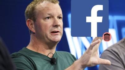 #DeleteFacebook | Tras escándalo, cofundador de WhatsApp sugiere dejar de usar Facebook