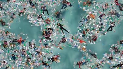 El gran parche | Una isla de basura plástica flotando en el Pacífico