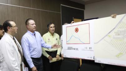 Anuncia Quirino Ordaz nuevo Hospital General de Culiacán en la salida a Imala