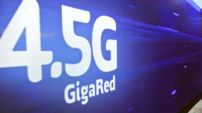 GigaRed | Telcel presenta una nueva red 4.5G que promete ser 10 veces más rápida que LTE