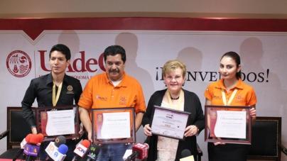 Mazatlecos logran la primera medalla de oro para la UAdeO en concurso internacional de robótica