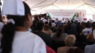 Inicia transformación de Unidad Médica Familiar en Guasave; ahora será Clínica de Especialidades