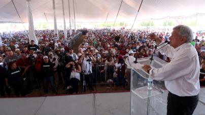 'Todo indica que vamos a triunfar el primero de julio': López Obrador