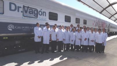 Más de 4 mil pacientes atendidos por el Doctor Vagón en su paso por Sinaloa