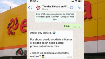 Elektra llega a WhatsApp | Pronto podrás realizar pagos desde tu celular