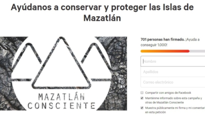 Change.org | Ciudadanos recaudan firmas para proteger Isla Venados en Mazatlán