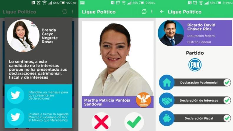 Ligue político | ¿Te imaginas haciendo 'match' con las propuestas de algún candidato?