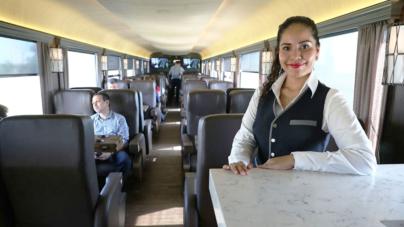 Chepe Express, la nueva forma de viajar en tren