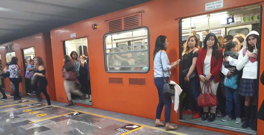 Zona chilanga   ¿Pánico en el metro? (Parte II)