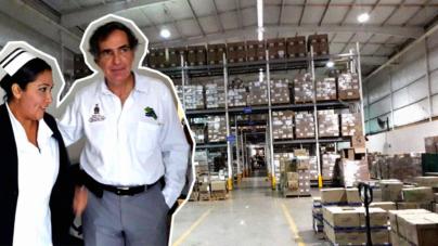 Asegura Román Messina abasto de medicamentos para todo el año