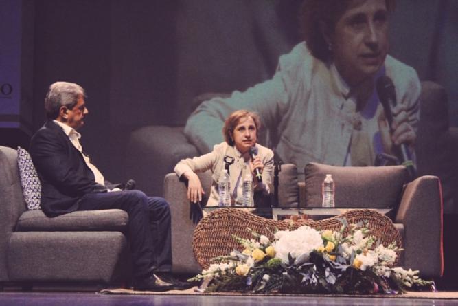 Aristegui en Culiacán | 'Cuando matan a un periodista matan a un pedazo de la sociedad'