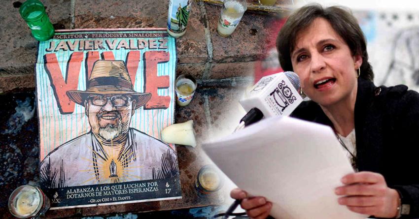 Carmen Aristegui visitará Culiacán por aniversario luctuoso de Javier Valdez