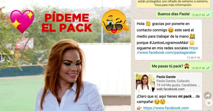 ¡Pídeme el pack! | Cómo sabotear tu propia campaña política desde el primer día