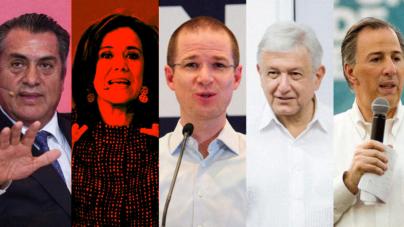 Elecciones 2018 | De los 5 que teníamos… ya nomás nos quedan 4
