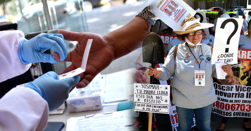 Convocan a familiares de desaparecidos a donar muestras de ADN