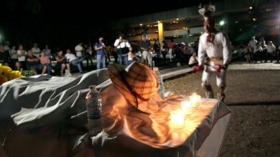 Celebran responso yoreme y velada cultural en memoria de Javier Valdez