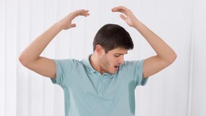 ¿Sudas más de la cuenta? Podrías padecer hiperhidrosis