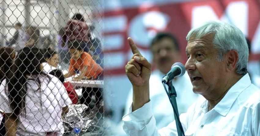Pide AMLO a EPN acciones en defensa de niños migrantes afectados por crisis migratoria