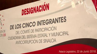 Designan a integrantes de Comité Ciudadano Anticorrupción