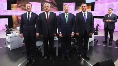 Tercer debate presidencial | El imputado, el precavido, el hincha y el del FBI