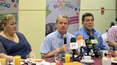 Invitan a sinaloenses a la Feria Nacional de Durango 2018
